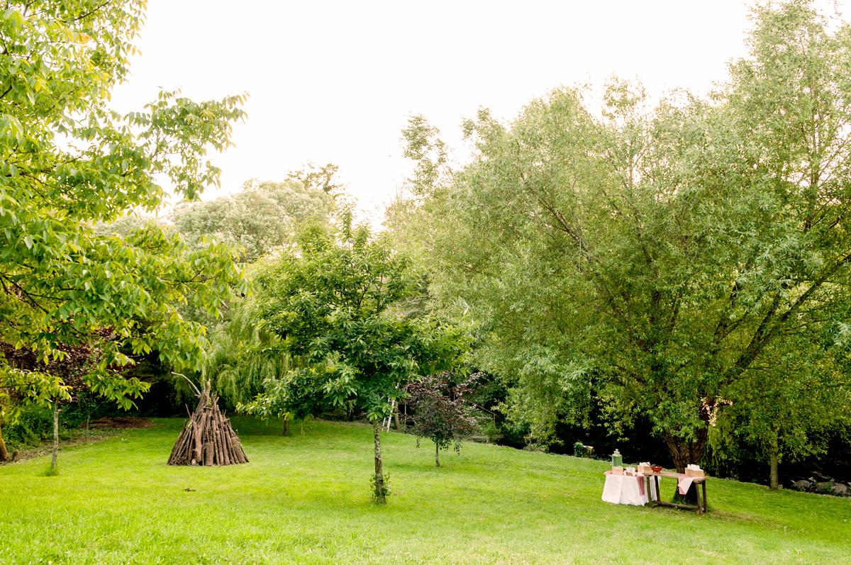 Preparación de la Cacharela San Juán A Quinta da Auga