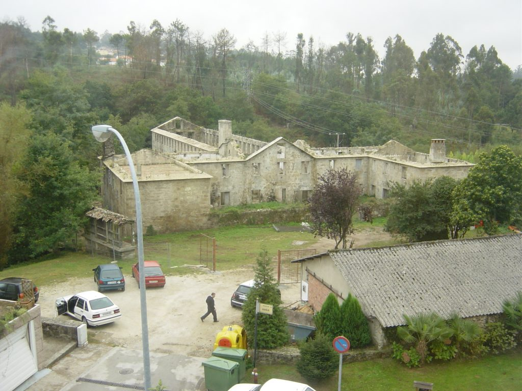 Obras A Quinta da Auga Restauración Hotel